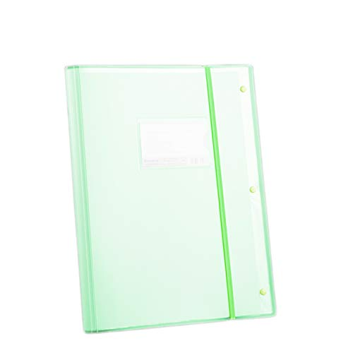Newsea A3 File Folder Punchless Binder Sleeves Protector with 30 Pockets Document Display Organizer for A4 Size Portfolio Music Drawing Artwork Presentation for School Business Office SuppliesGreen