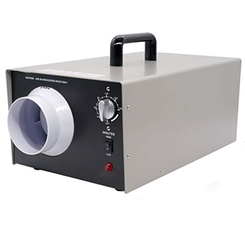Read About Commercial Generator 7000-14000mg/h Ozone Machine Home Air Ionizers Deodorizer,Air Purifier,for Rooms, Smoke, Cars and Pets, Black