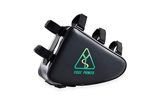 YOSE POWER E-Bike Batterie 36V 20Ah Akku mit Dreieckstasche Unterrohr Dreieck Fahrrad