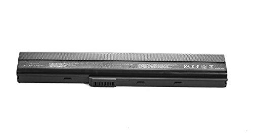 Justcell OEM Ersatzakku K52 für Asus Notoebook Laptop Akku, ersetzt Akkutypen: Asus A31-K52 / A32-K52 / A41-K52 / A42-K52 / A32-N82 / A42-N82 / A42-B53, 11,1v oder 10,8v/ 5200mAh Replacement Batterie