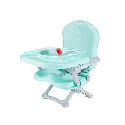 YShop Chaise Haute for bébé, Chaise de Salle à Manger Portable Pliable Multifonctions, for bébés Chair Chaise de Salle à Manger for Tout-Petits avec rehausseur de Plaque ( Color : Green )
