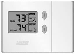 Lennox Non-programmable 2H 1C Thermostat Heat Pump Our shop most Ranking TOP18 popular