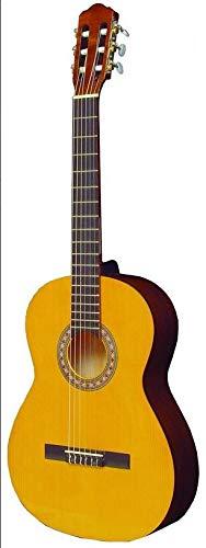 Hora Guitarra Clásica y Gig Bolsa   Laura Modelo   Full Size   Abeto Sólido Top