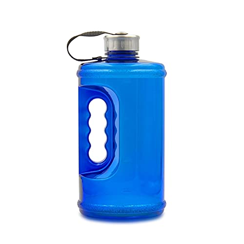 Botella de Agua de Fitness, Botella de Agua Deportiva, Botella de Agua Deportiva de tritan sin BPA, Botella de Agua a Prueba de Fugas para Camping al Aire Libre, Gimnasio, Escuela
