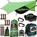 goRoam Outdoors Camping Hammock with Mosquito Net and RainFly | Amazon