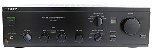 Sony TA-F 400 Stereo Verstärker in schwarz
