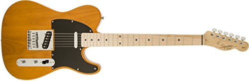 Squier by Fender エレキギター Affinity Series™ Telecaster®, Maple Fingerboard, Butterscotch Blonde 310203550