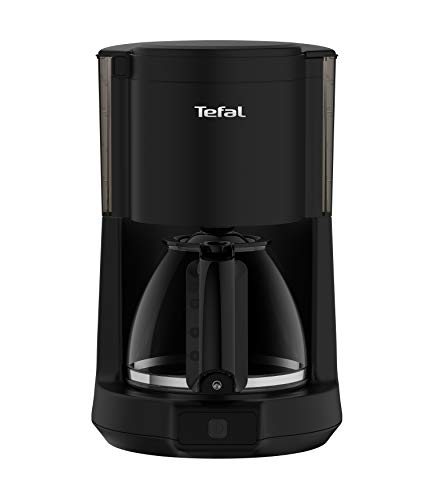 Tefal CM272N Principio Select Filter-Kaffeemaschine (1000 Watt, Kapazität: 1,25 Liter, automatische Abschaltung) schwarz