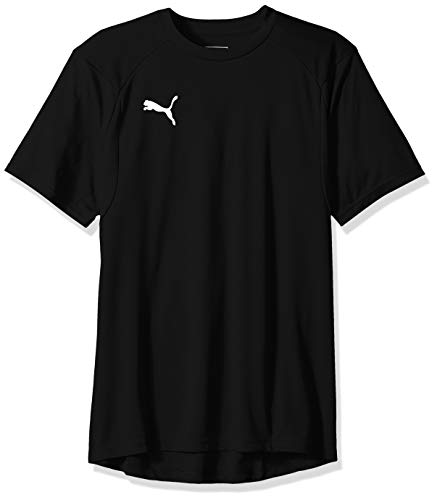 PUMA Men's Liga Training Jersey, Black White, X-Large