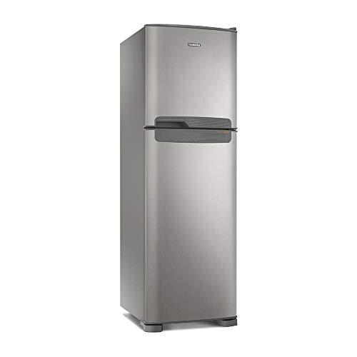 Geladeira Frost Free Continental 394l Tc44s Prata Top Freezer 127v