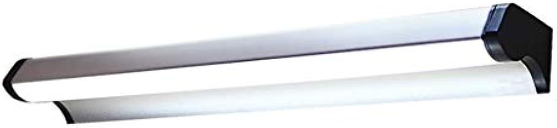 &Spiegelleuchte Badezimmer LED Spiegel Frontleuchte Wasserdichte Nebel Make-Up Lampe Europischen Retro Wandleuchte Schminktisch Schrank Licht Weies Licht (gre   45cm 6w)