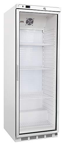 Kühlschrank mit Glastür 350 Liter Flaschenkühlschrank Getränkekühlschrank Gastro