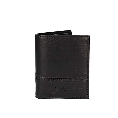 THE BRIDGE WAYFARER porta tarjetas de crédito GIANNUTRI Hombre Cuero Negro- 0125098A-7R