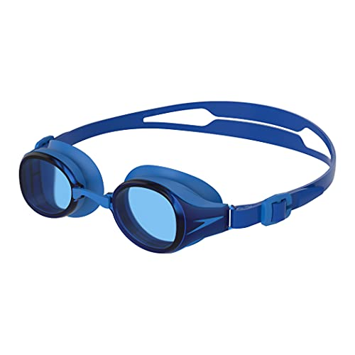 Speedo Hydropure Optical Gafas de natación, Unisex-Adult, Bondi Blue/Azul, 3.0