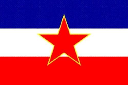 U24 Fahne Flagge Jugoslawien alt 90 x 150 cm
