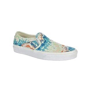 Vans Women's Asher Slip On Sneaker Tie Dye 7.5