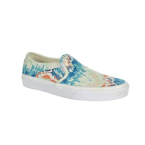 Vans Women's Asher Slip On Sneaker Tie Dye 8.5