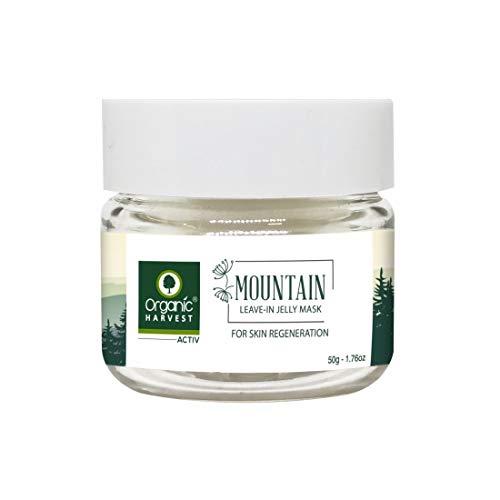 Organic Harvest Mountain Range Leave in Jelly Mask, 50ml