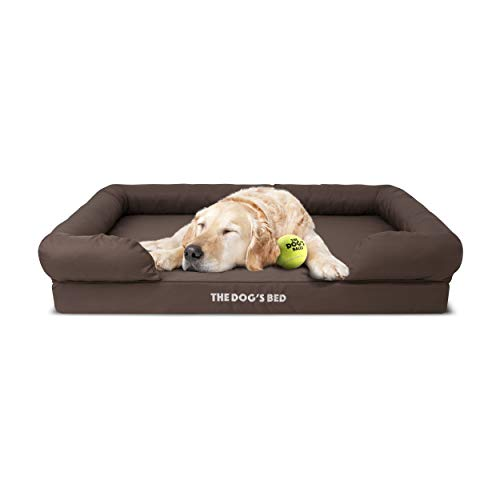 The Dog's Bed, Premium Orthopaedic Memory Foam Waterproof Dog Beds, Many Colours/Sizes, Eases Pet...