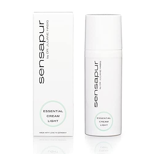 SENSAPUR Perfect Comfort Cream Light Crème hydratante pour peaux sensibles, normales, grasses et mixtes 50 ml