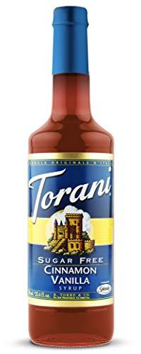 Torani Cinnamon Vanilla (Vanille Zimt) zuckerfrei 750ml