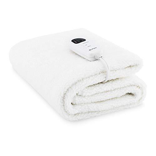 physa Manta Eléctrica Cobertor Para Camilla De Masaje PHY-MTW-3 (Potencia: 60 W, Vellón y lana sintética, Dimensiones: 180 x 75 cm, LED)