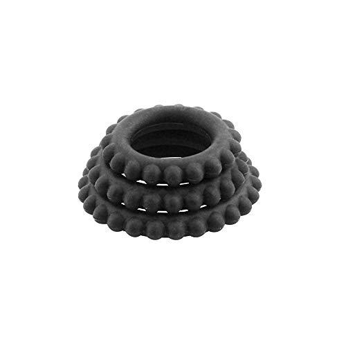 Flyten Nuevo Anillo de Silicona de Entrenamiento de retardo de patrón de neumático, 3 Piezas/Juego