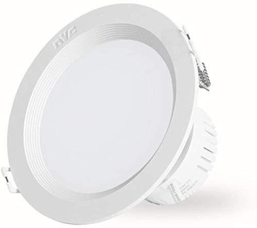 CJK LED Downlight 4W 6W 8W 10W 12W 15W 20W LED de iluminación empotrada de la lámpara Redonda Sitio de la Oficina Interior de la Cocina del Punto del LED de luz Blanca a Partir Cubre Faros em.