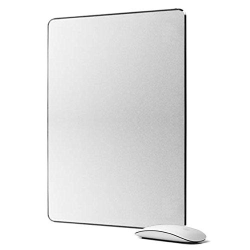 LOE アルミニウム マウスパッド Aluminum Mouse Pad 光学式マウス 対応 300mm x 240mm (Large)