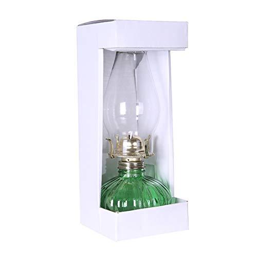 GCMJ Lamparillas De Noche,Retro Lámparas De Aceite Ultra Pura con Perilla Atenuador Antigüedades Iluminación de Interior Candil