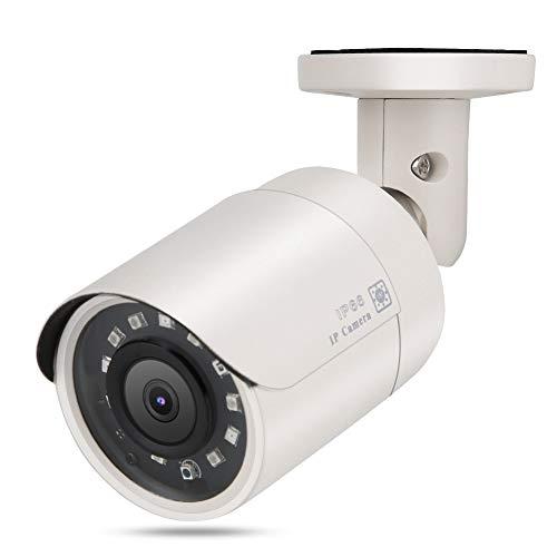 HD 1080P Starlight IP-webcam met POE-functie, Home Outdoor CCTV Starlight Network IP-veiligheid Infrarood Nachtzichtcamera voor ONVIF, Betere Bewakingscamera voor Thuisveiligheid