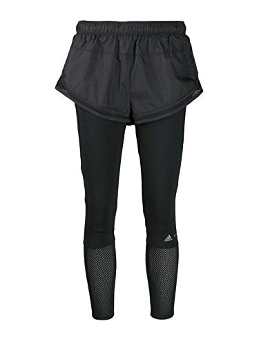 Luxury Fashion | Adidas By Stella Mccartney Dames EA2211 Zwart Elasthaan Leggings | Herfst-winter 19