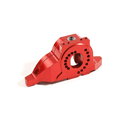 RZXYL Aluminum Alloy Motor Mount Base Bracket Upgrades Parts for Traxxas TRX4 RC Crawler Car (Red)