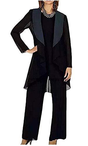 Botong Women's 3 Pc Mother's Pants Suits For Wedding Evening Dress Suit