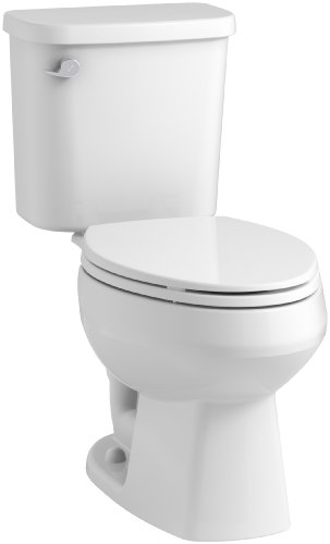 STERLING, a KOHLER Company 403081-0 Windham Toilet, White