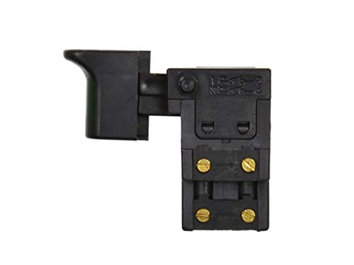 Interruptor de Pulsador de Repuesto, Interruptor de Repuesto para Taladro Percutor - Modelo: FA2-8/2WB - 8A 250V/16A 125V - Compatible con Martillo Perforador I-601
