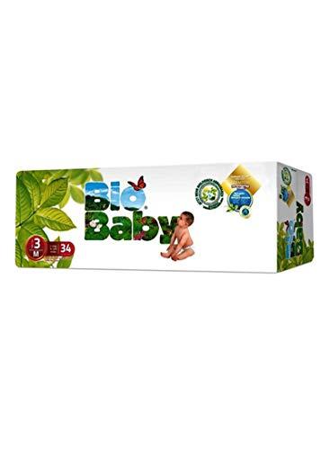 Pañales Bio Baby talla 3 (7-10 kg) 34uds eco