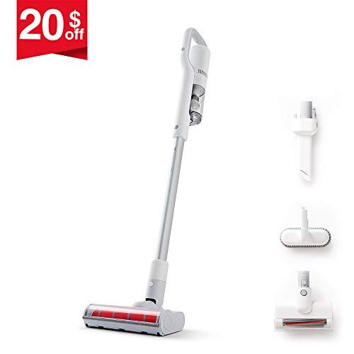 ROIDMI Premium Portable Cordless Vacuum Cleaner Handheld U.S. (Extra Value Edition, Powerful & Low Noise, Lightweight 2.7 lbs) - Versatile Smart Stick Vacuum Multi-Function Cordless Dust Catcher