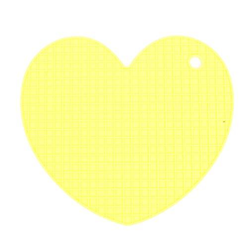 Stijlvolle hart vormige honingraat geplaatst deur mat isolatie siliconen pad isolatie pad beker houder gereedschap plaatsing onderzetter deur mat keuken gereedschap@B_hart
