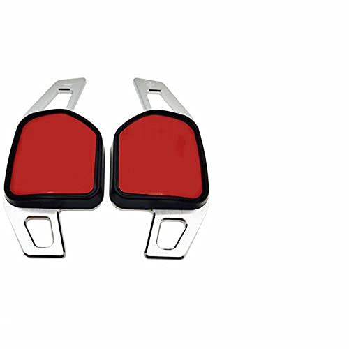 Ztxhsza para AudiA3 8P 8V A4 B8 A5 A6 C7 A7 A8 Q3 Q5 Q7 S3 S5 S6 S7 SQ5 TT DSG Pegatinas de Cambio extensión de paletas de Cambio de Volante de Coche