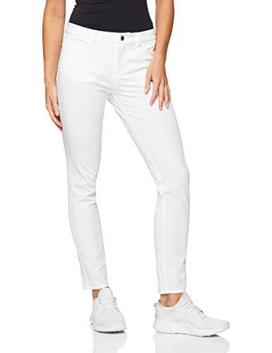 NIKE 884932 Pantalones Deportivos, Mujer, Blanco (Blanco 100