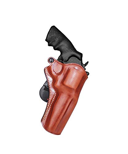 Premium Leather Paddle Holster Open Top Fits, Smith Wesson...