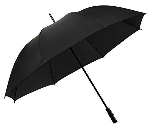 VON LILIENFELD Regenschirm Partnerschirm Golfschirm Damen Herren Gross XXL Stabil Julian schwarz