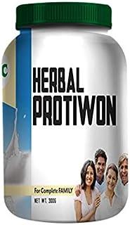Ray_Enterprise IMC Herbal Ayurvedic Protiwon Poweder for Complete Family Vanilla Flavour 300g pack of 1