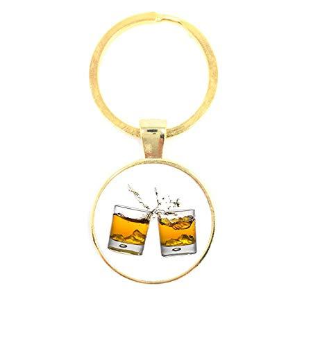 Sleutelhanger Glas - Whiskey