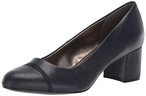 Bandolino Footwear Women's Odear Pump, Navy, 8.5