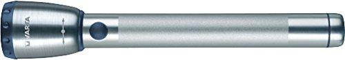 Varta 1 Watt Premium LED Light F20 (inkl. 2x Longlife Power AA Taschenlampe Leuchte Taschenleuchte Taschenlicht mit Aluminiumgehäuse geeignet für Haushalt, Camping, Garage, Stromausfall, Outdoor)
