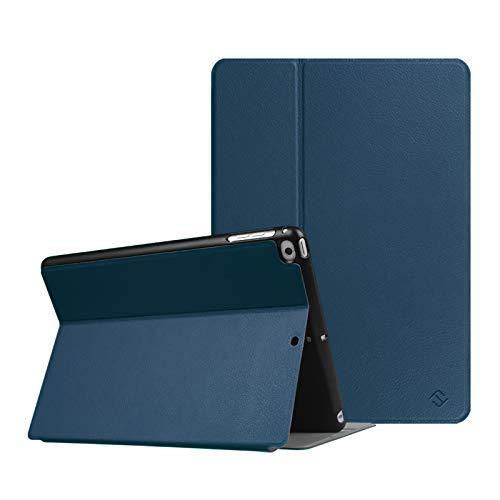 Fintie Multi-Winkel Hülle für iPad 9.7 Zoll 2018 2017 / iPad Air 2 / iPad Air - [SlimShell] Superleicht Folio Stand Schutzhülle Case mit Auto Schlaf/Wach Funktion, Marineblau
