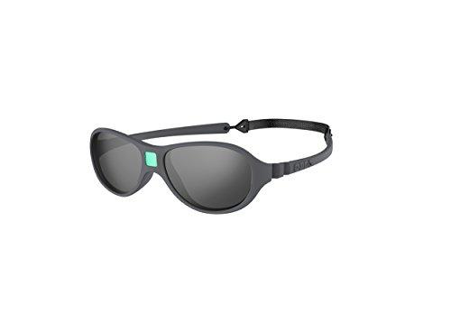 Ki Et La Ki ET LA - Babysonnenbrille im Stil Jokaki - 100% unzerbrechlich - Grau - 12-30 Monate