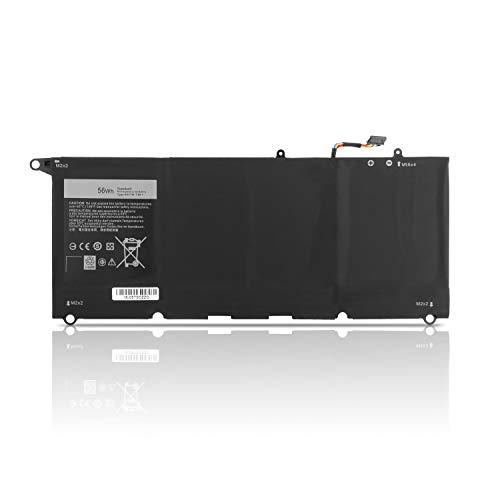 K KYUER 7435mAh 56WH 90V7W Laptop Battery for Dell XPS 13 9343 9350 Ultrabook P54G P54G001 P54G002 13D 9343 13D-9343-1808T 13D-9343-350 13D-9343-3708 13-9350-D1708 13-9350-D1608 Notebook 5K9CP DIN02